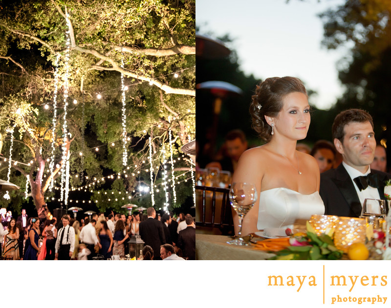 Outdoor Wedding Reception Photogaphy LA