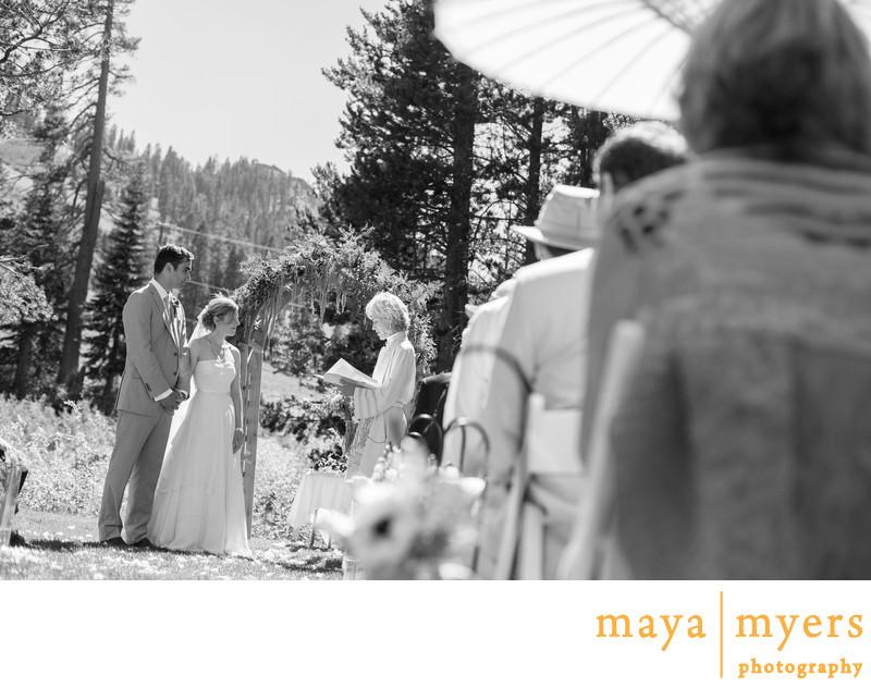 Wedding Ceremony Sugar Bowl Truckee