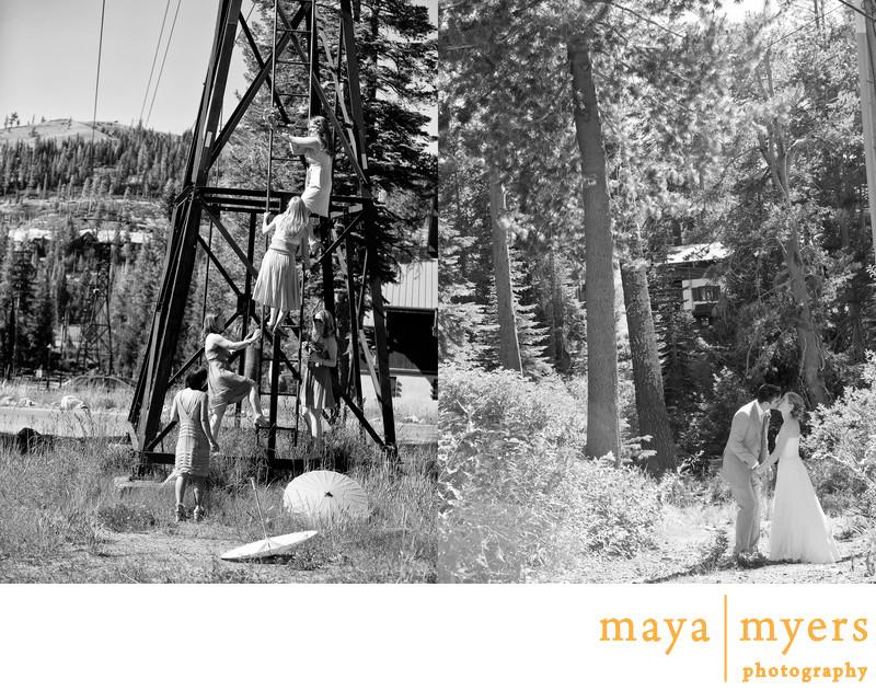 Destination Wedding Photographer Lake Tahoe