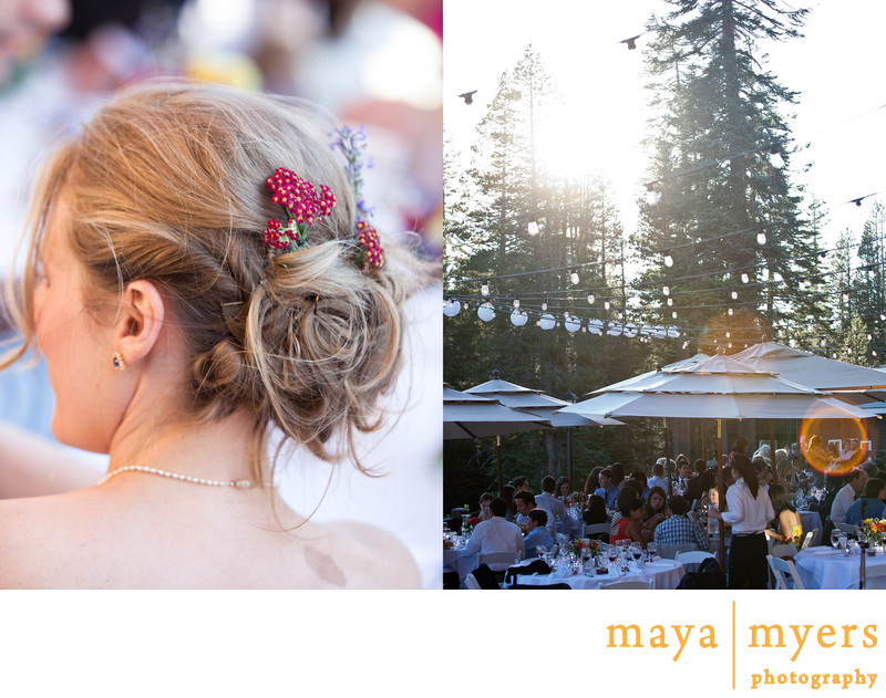 Summer Wedding Lake Tahoe