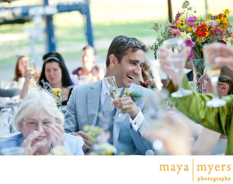 Outdoor Wedding Receptions Sugar Bowl Lodge