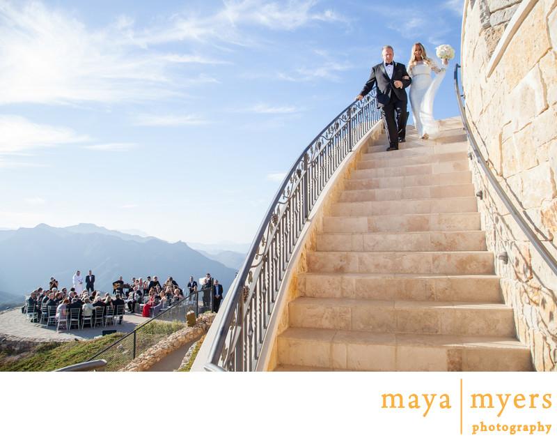 Wedding Ceremony Malibu Rocky Oaks