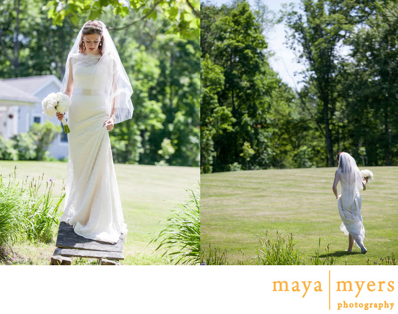 Bridal Portraits Hudson Valley
