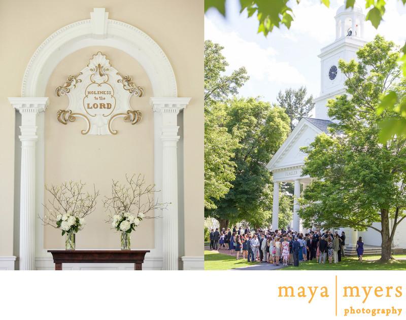 Millbrook School Wedding Ceremony