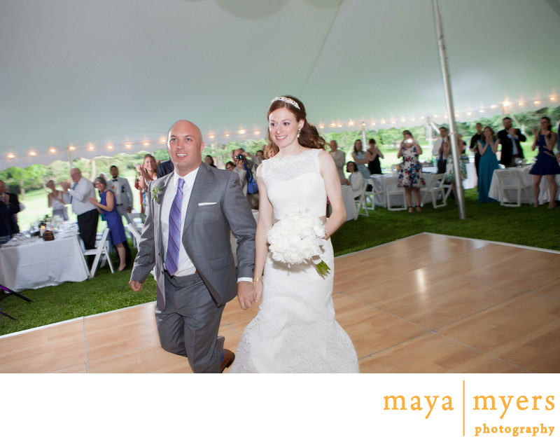 Tented Wedding Receptions Montgomery Place