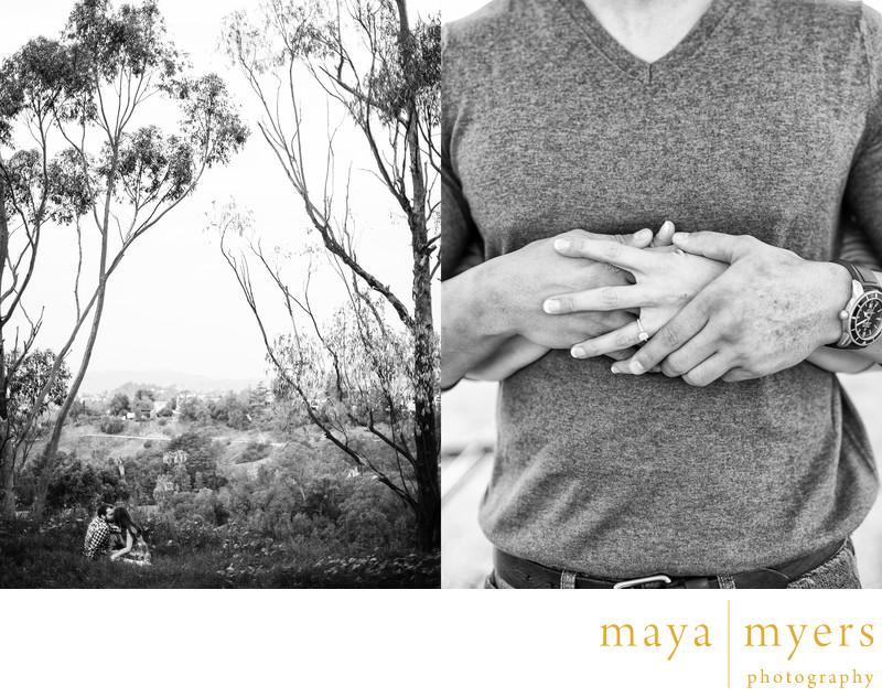 Elysian Park engagement session photographer
