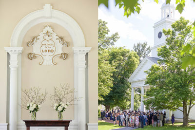 Millbrook School Wedding Ceremony