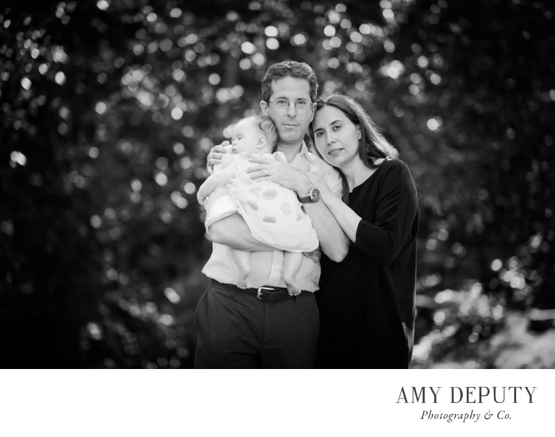 Black and White Family Portraits in Baltimore