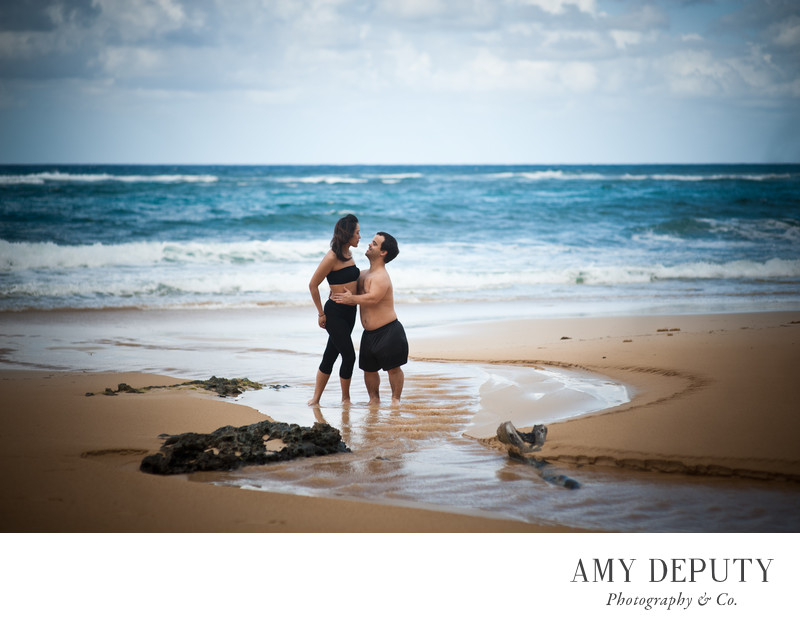 Beach Wedding Engagement Photographer