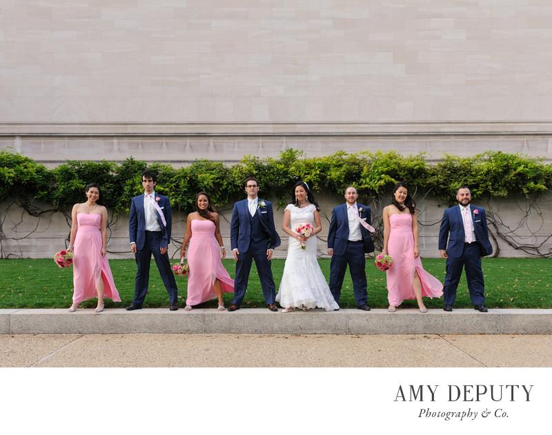 Washington DC Wedding Party Photography