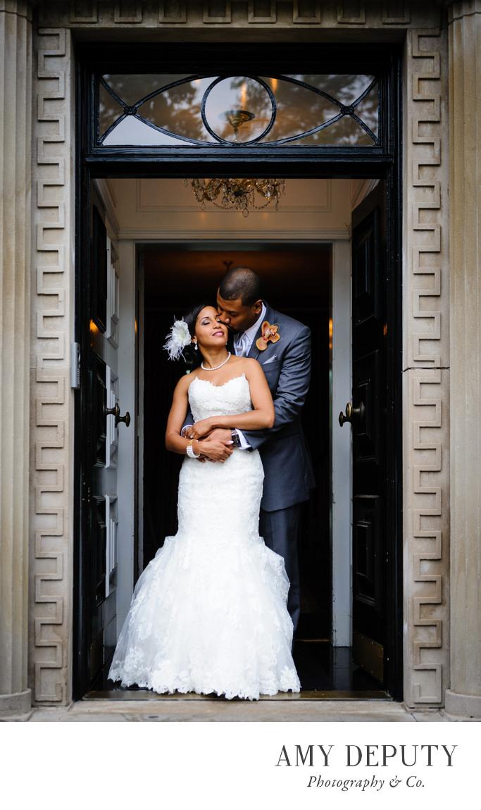 Newton White Mansion Wedding Photographer