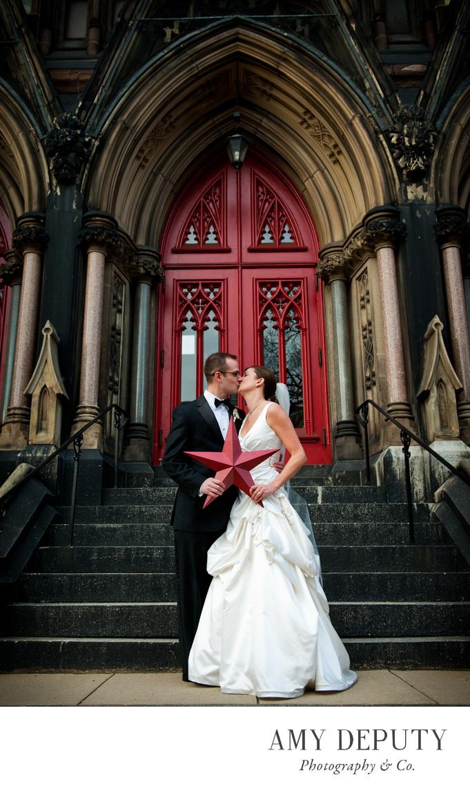 Mt Vernon Place UMC Baltimore Wedding Photographer