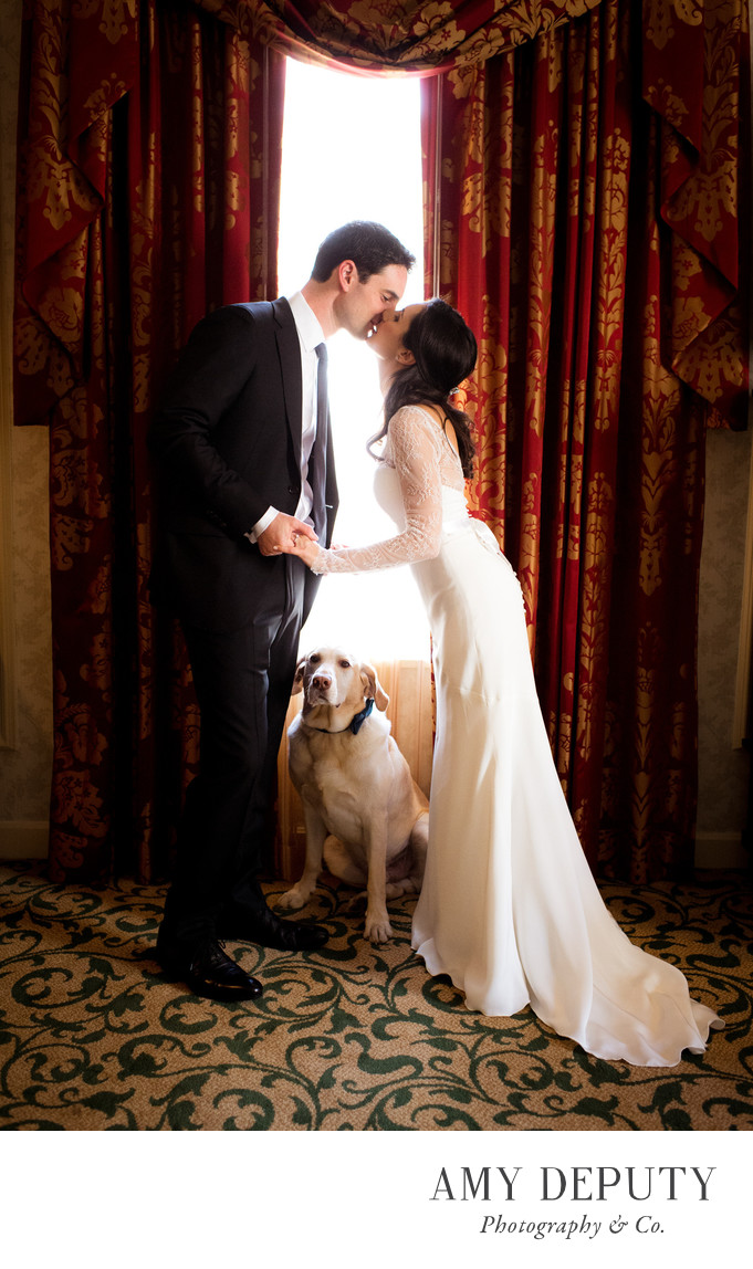 The Willard InterContinental Wedding Photographer