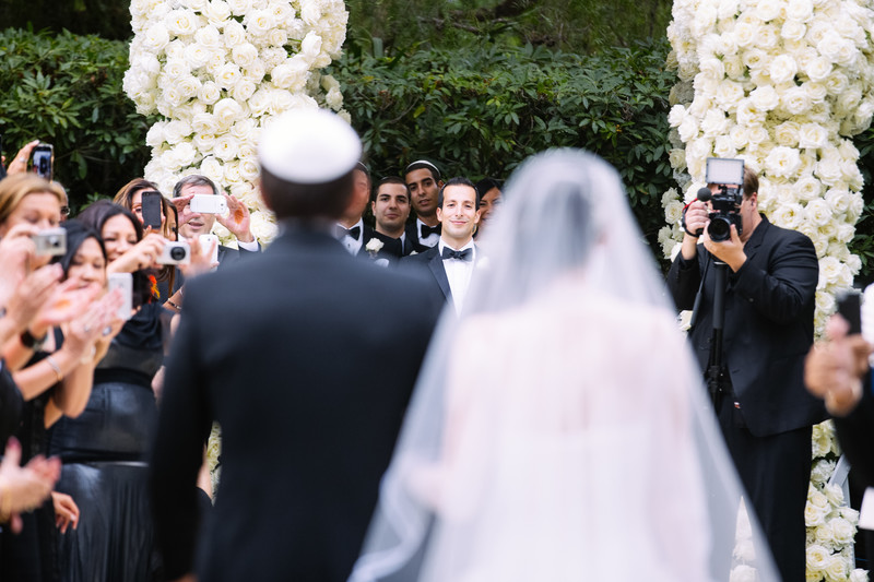 Garden Ceremony in Beverly Hills California
