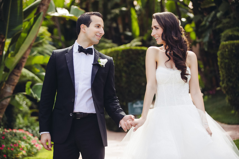 Hotel Wedding Photographer in Beverly Hills California