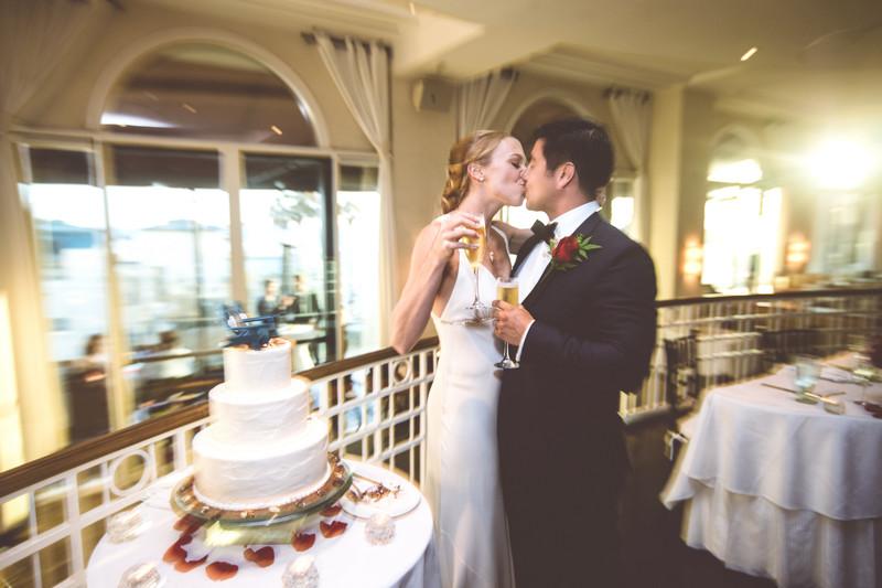 Wedding Reception in Santa Monica, CA