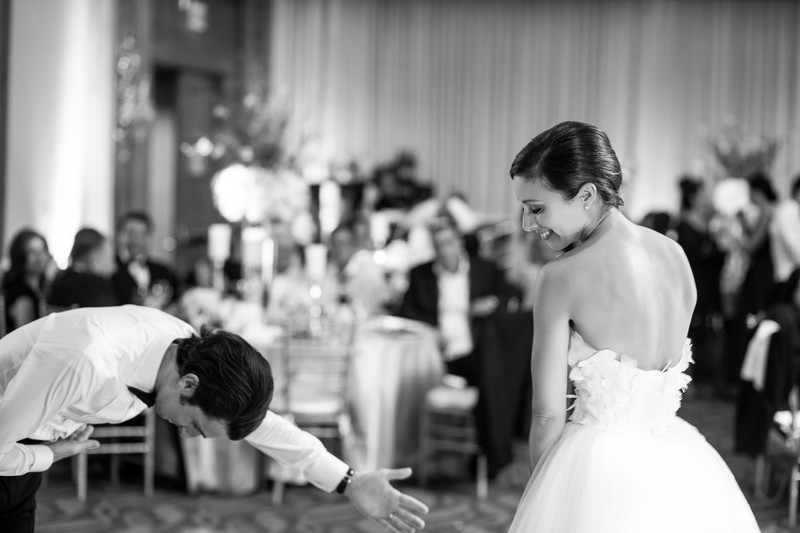 Wedding Reception in Beverly Hills