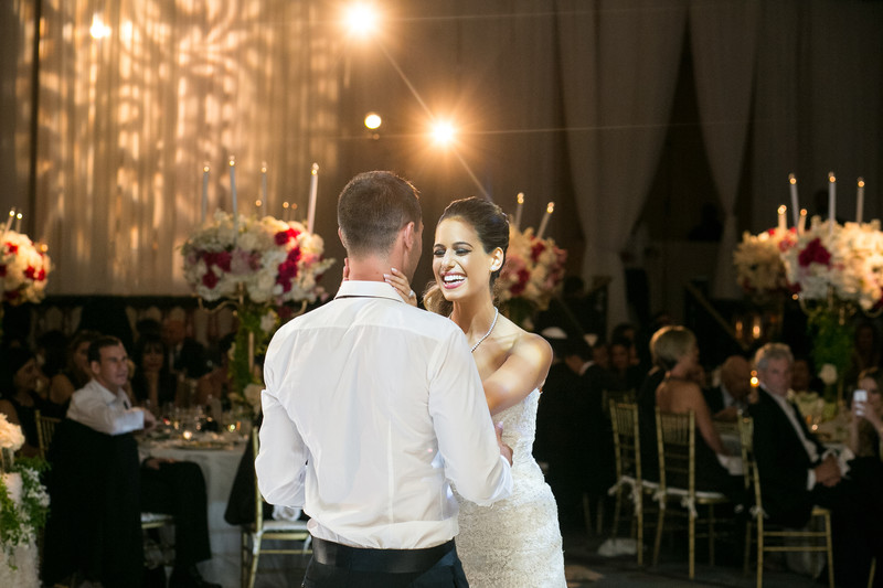 Ballroom Wedding Reception in Beverly Hills