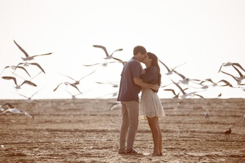 Malibu Engagement Session Photographer
