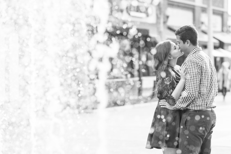 Downtown Culver City Engagement Session Photography