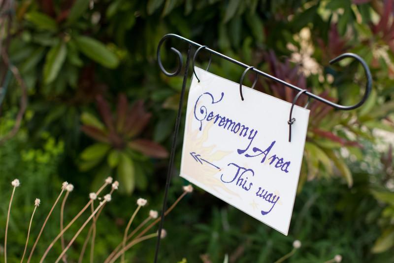 Garden Wedding Decor Photography