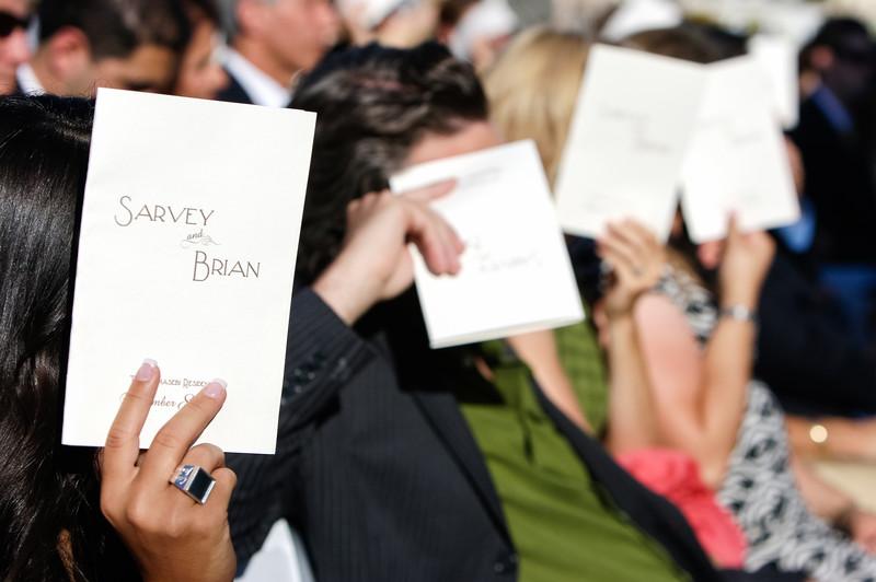 Creative Photo of Wedding Ceremony Programs