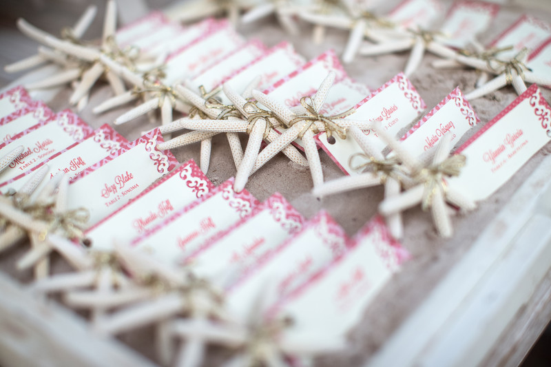 Wedding Reception Decor and Guest Favors