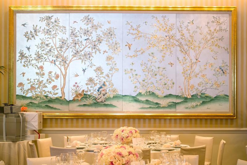 Gorgeous Wedding Ballroom Decor at the Peninsula Hotel