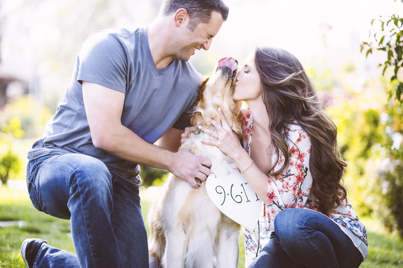 Save the Date Engagement Session Photography