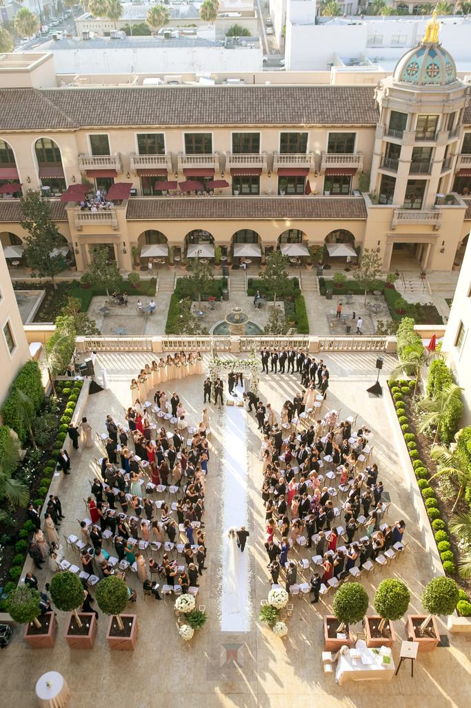 Beverly Hills Wedding Ceremony