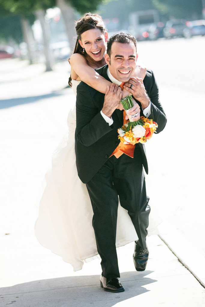 Playful Wedding Photography in Beverly Hills