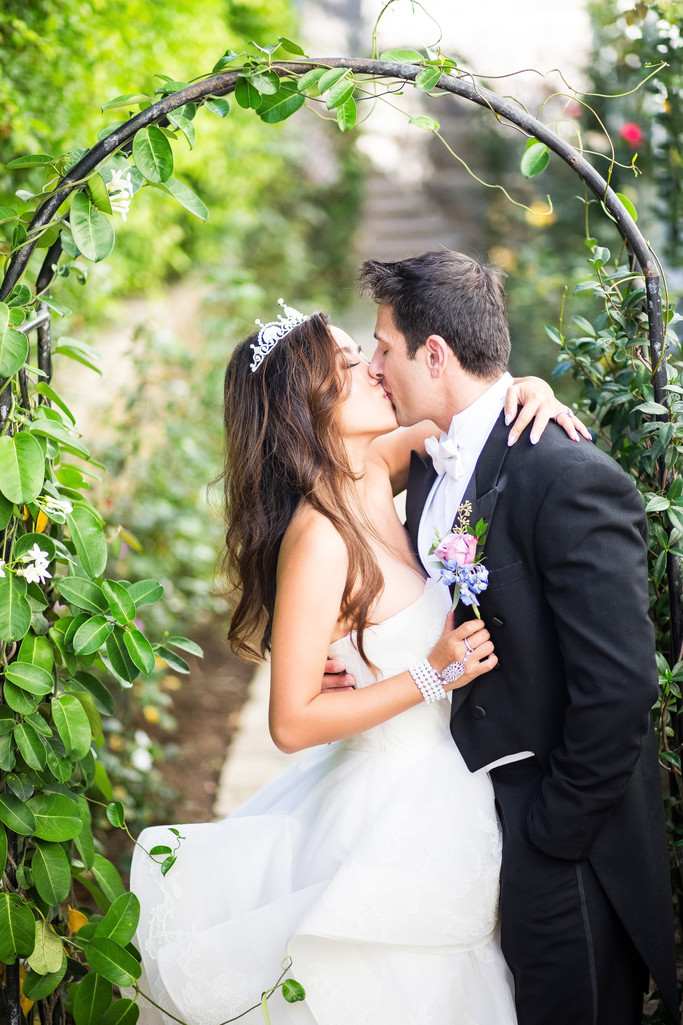 Garden Wedding at Bel-Air Bay Club