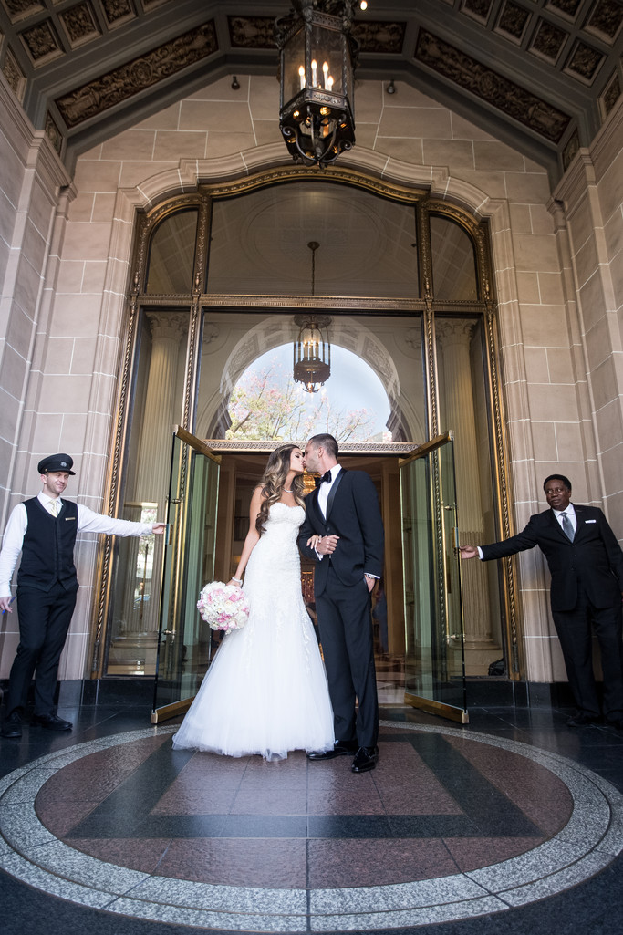 Beverly Wilshire Ballroom Wedding