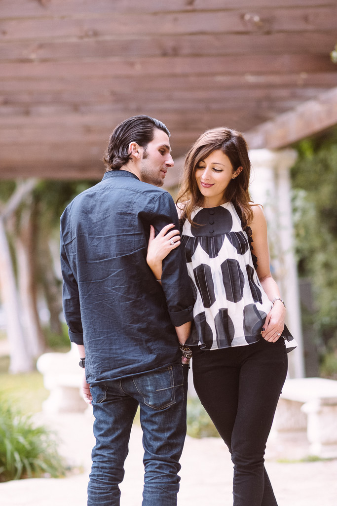 Trendy Beverly Hills Engagement Session
