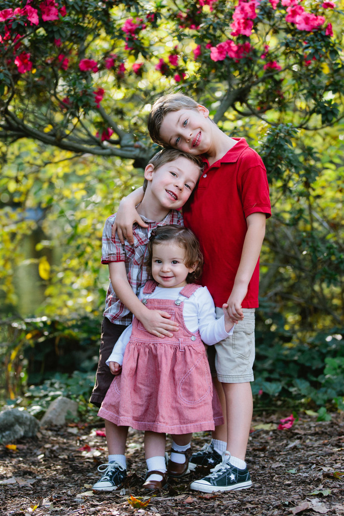 Children Portrait Photography at Descanso Gardens, La Canada