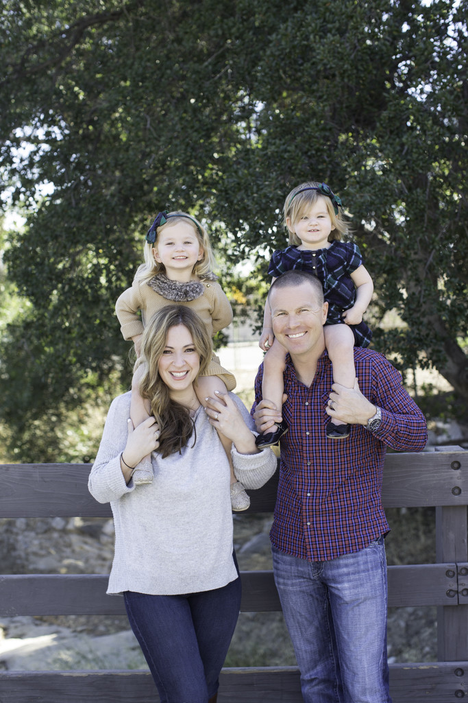 Nature Family Portraits in Granada Hills, CA