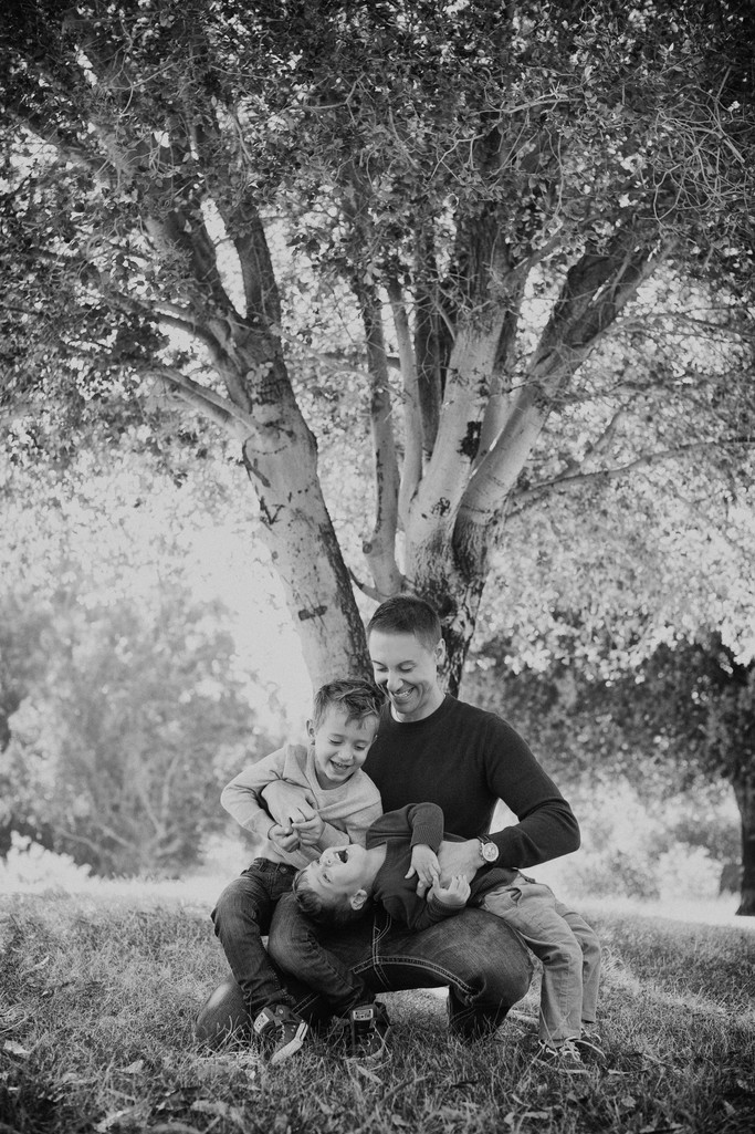Father and Sons Portrait Photography