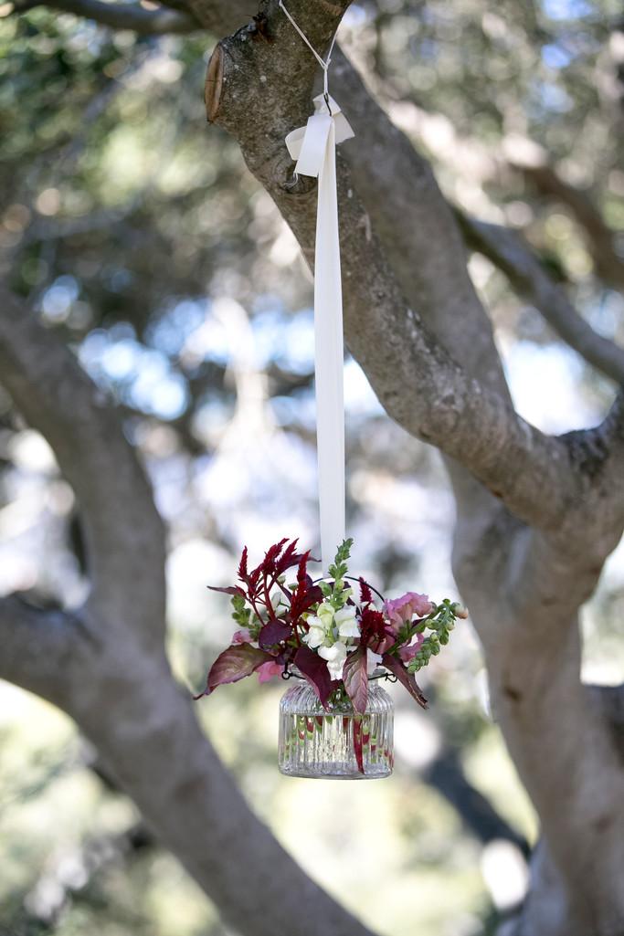 Rustic Wedding Ceremony Decor Photography in Santa Barbara