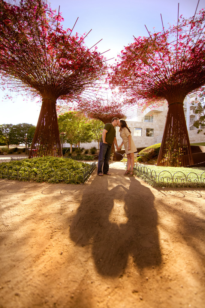 Getty Center Los Angeles Engagement Session
