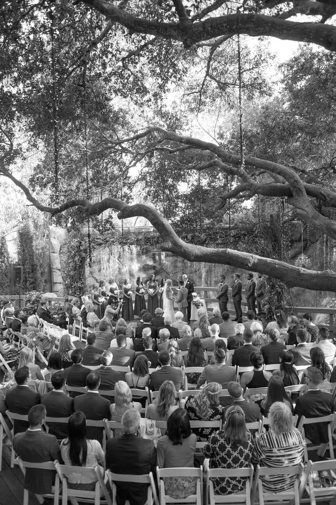 Rustic Wedding Ceremony in Malibu, CA