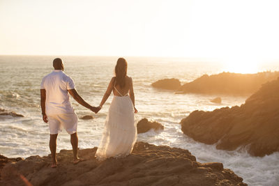 Beach Engagement Session Photographer in Malibu, CA