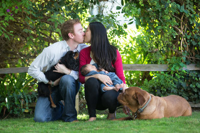 Sentimental Family Portaits in Sherman Oaks, CA