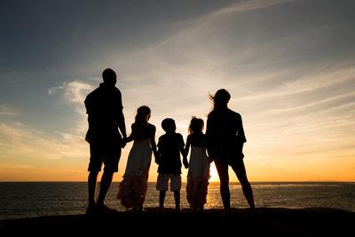 Family Portrait Session in Malibu CA