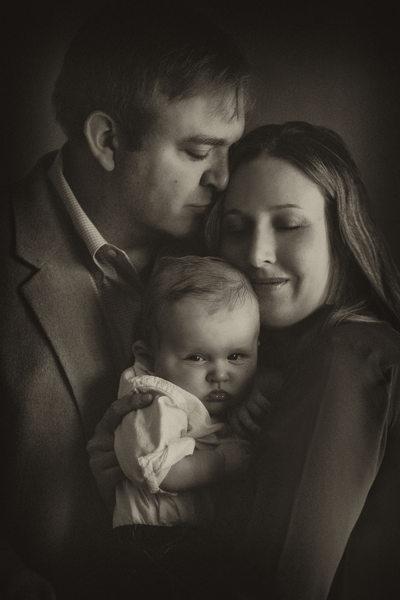 Intimate Family Portraits in La Canada, CA