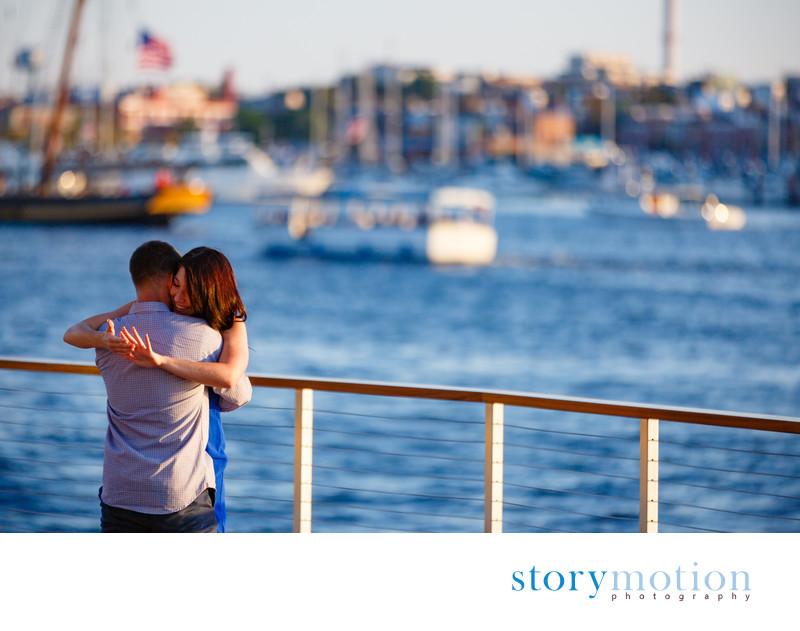 Surprise Wedding Proposal - Baltimore Inner Harbor
