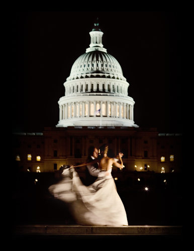 Ronald Regan Building Wedding - After Party Portraits by US Capitol