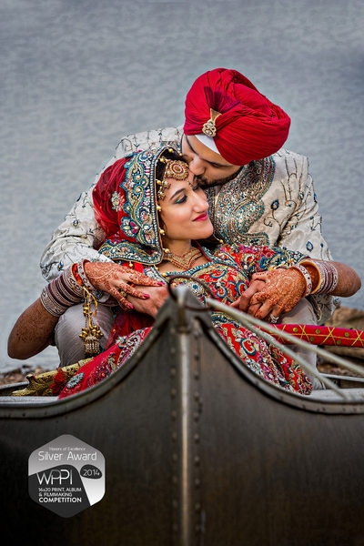 Calm Waters - Indian Sikh Wedding Portraits