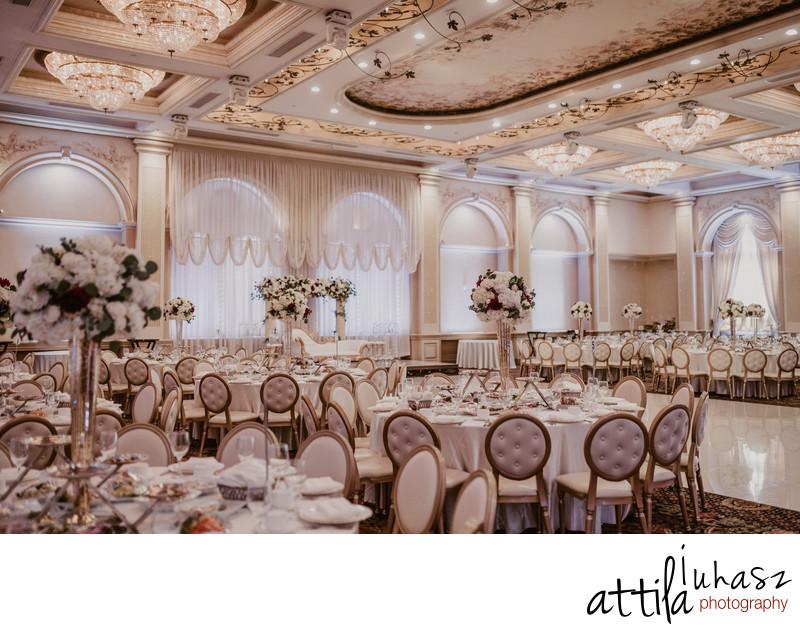 Wedding reception venue Renaissance Banquet Hall