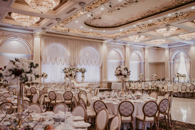 Wedding reception venue Renaissance Banquet Hall