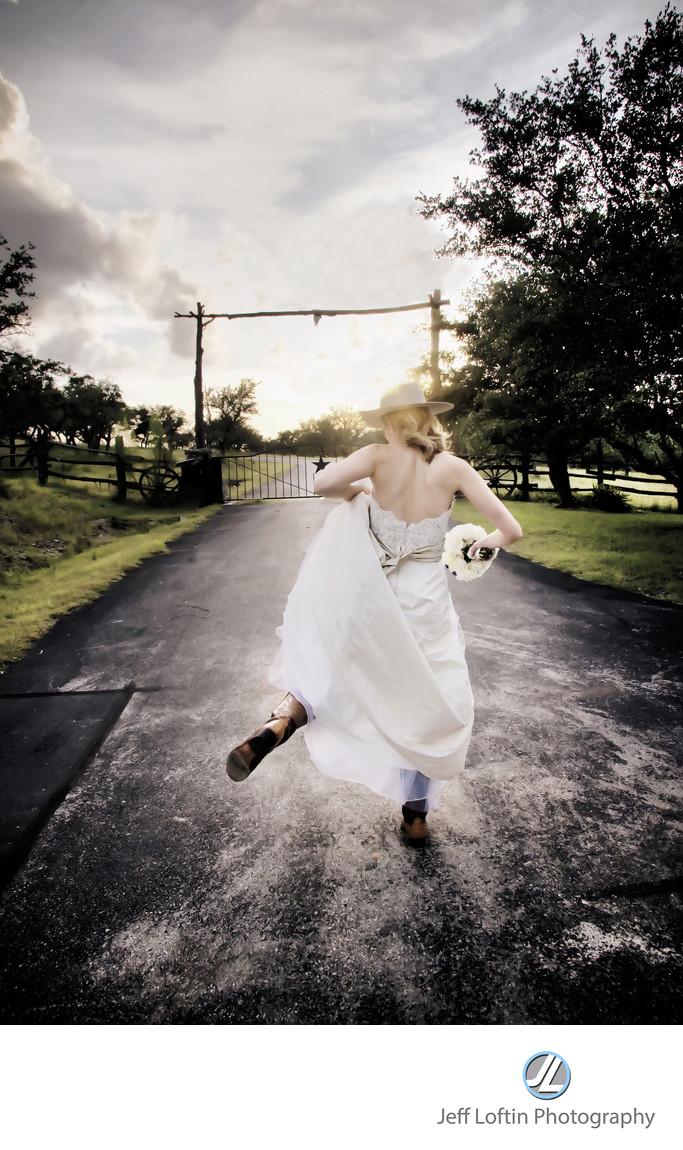 Cowboy bride photographer